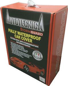 AUTOTECNICA STORMGUARD FULL WATERPROOF SEDAN CAR COVER X LARGE UP TO 5.16M 1/188