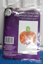 """New Inflatable Pumpkin with Stem 13.5"""" X 15"""" Fun"""