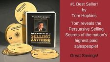 Tom Hopkins -Master Art of Selling Anything 12 Cds - Usually ships within 24 hrs