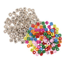 comprend 24 compartiment cas Perles alphabet 796pcs 6mm Cube Kit