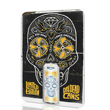 WALL SIGN Day of the Dead CORONA BEER White Version Poster RUSTED BAR DECOR Wall