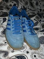 mens blue adidas originals spezial spzl trainers size UK10