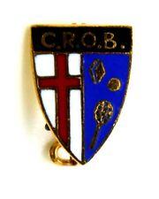 Spilla C.R.O.B. cm 1 x 1,5