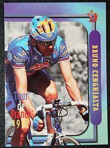 Tour de France   Cenghialta  Batik - Del Monte   Colour Card