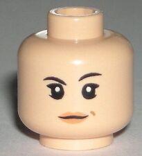 LEGO Star Wars Sabine Wren Minifigure Head Flesh Girl Dual Sided 75090