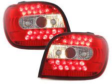 Fanali posteriori LED Toyota Yaris 98-03  red/crystal