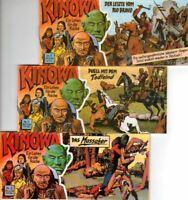 KINOWA Band 1-17, Piccolo, Verlag Hutterer & Förster, 1987-89, Z:1-2