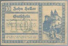 Notgeld - Österreich - Stadtgemeinde Melk a. d. Donau - 10 Heller - 1920