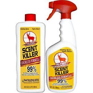 Wildlife Research Scent Killer Spray Combo Pack 2-24 oz.