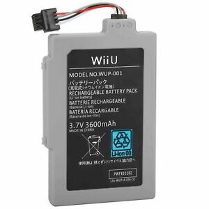 3.7V 3600mAh ARR-002 Rechargeable Battery for Nintendo Wii U Gamepad Battery