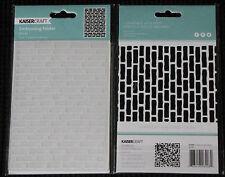 Kaisercraft - Embossing Folder - Bricks (EF208)