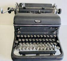Royal Black KMM Typewriter