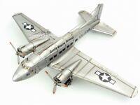 World War II US C-47 Transport Aircraft Metal Desk Model Kit Airplane Craft Gift