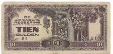 Netherlands Indies - 10 Gulden 1942  P#125b - Joelnumismatics- (1)