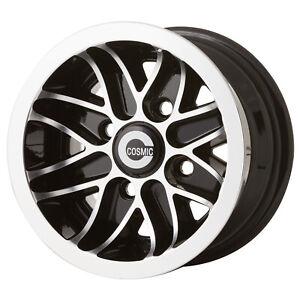 "Set of 4 Cosmic Alloy Wheel Rims 6 x 10"" For Classic Mini"