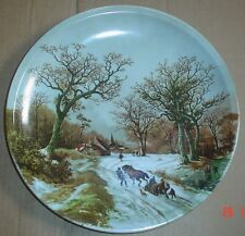 ROYAL SCHWABAP 1984 TER STEEGE BV. HOLLAND WINTER SCENE