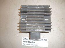 2003 Mercury Yamaha 115 hp Rectifier and Regulator 881346T 68V-81960-00-00