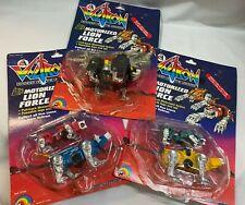 Figure Transformers MOTORIZED LION FORCE VOLTRON GOLION LIONBOT Ljn Toys 1984
