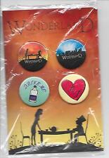 Wonderland Broadway Musical Souvenir Pin Set