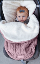 nid d ange gigoteuse porte bebe couverture 0/8 mois ROSE