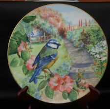 Royal Doulton limited edition plate Blue Tit Garden Visitors Collection 1992