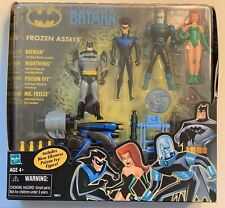 Hasbro Batman FROZEN ASSETS set Nightwing, Poison Ivy, & Mr. Freeze MISB 2002