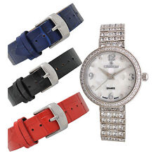 Croton Womens CN207555RHMP Quartz Crystal Accents Interchangeable Bands Watch