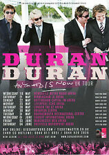Duran Duran 'ALL YOU NEED IS NOW' 2011 UK Tour A5 Flyer - New