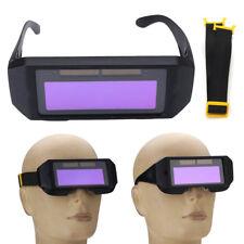 Auto Solar Powered Auto Darkening Welding Glasses Mask Goggles Helmet Eyes 2 Way