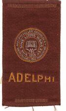 1910s S25 tobacco / cigarette / college silk Adelphi University