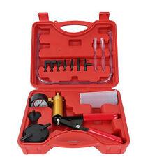 Fluid Brake Bleeder Hand Held Vacuum and Pressure Pump Tester Car Tool Kit NEW