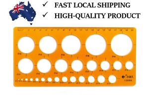 Good Quality Plastic Circles Template Diameter from 2mm to 40mm. AU stock