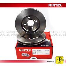 2X MINTEX FRONT BRAKE DISCS MDC1586 TOYOTA COROLLA (_E12_) (_E15_) PRIUS (_W1_)