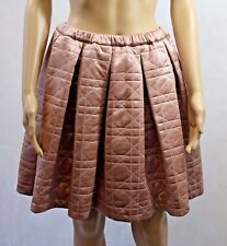 Bnwt BZR Bruuns Bazaar Circle Quilted Skirt In Pink - Size 38 (R59)