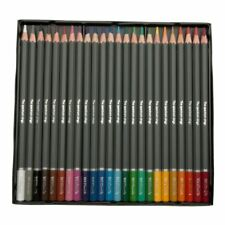 WHSmith Colouring Pencils Set For Sketching Assorted Colours Pack Of 24