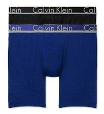 2ba2f1bf05ad $54 CALVIN KLEIN UNDERWEAR MEN BLUE BLACK NB1361 2-PACK MICRO BOXER BRIEF  SIZE S