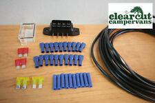5m x 4 Way 12v Wiring loom kit,Campervan/Motorhome,12v Sockets,12v Led Lighting