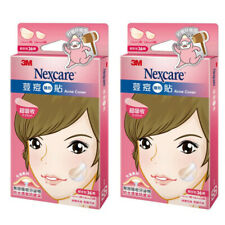 [3M NEXCARE] Ultra Thin Acne Dressing Pimple Patch Stickers COMBO 72pcs/2 boxes