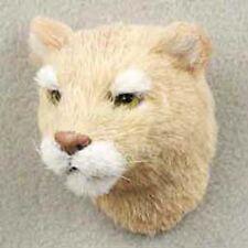 (5) BIG CATS INCLUDING JAGUAR, LEOPARD, COUGAR, CHEETAH, BOBCAT FUR MAGNETS!