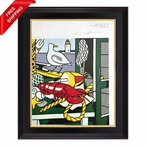Roy Lichtenstein - Cape Cod Still Life II,  Original Hand Signed Print with COA