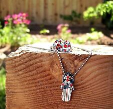Cookie Lee Flip-Flop Sandal Necklace and Heart Earrings