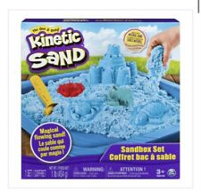 Kinetic Sand Sandbox Set By Spin Master, Llc, Magical Flowing Blue New