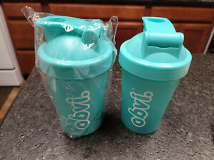 NEW!! Lot of 2: OBVI Shakers - Teal