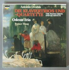 F783 Dvorak Piano Trios and Quartets Odeon Trio 4LP RCA Red Seal RL 30846 Digit