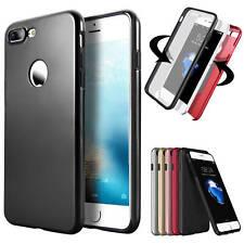 360 Handyhülle Full Cover Slim Case Tasche Schutz Silikon Bumper Etui Schale S8