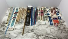 Double Point Knitting Needles Lot Of Metal, Plastic, Wood, Bamboo