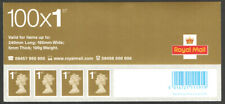GB 2006 1st class Business sheet Header walsall dated 12/10/06 stamps