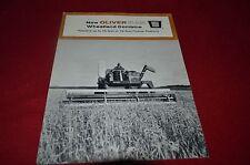 Oliver Tractor 542 Wheatland Combine Dealer's Brochure YABE