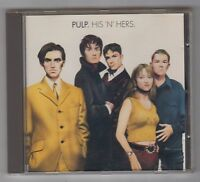 PULP  =  {CD}  =  HIS 'N' HERS  =  {JARVIS COCKER}  =