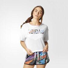 Adidas Originals Camiseta Mujer Blanco Multicolor Ropa Casual Camiseta